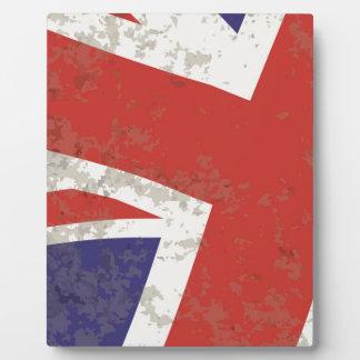 Union Jack Plaque