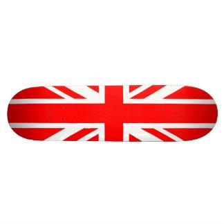 Union Jack Red Skate Board Deck