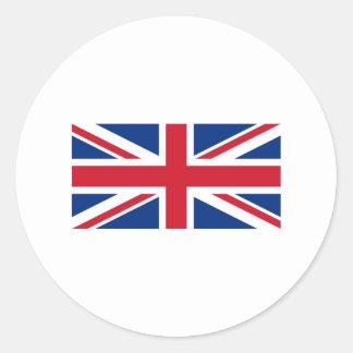 Union Jack Round Sticker