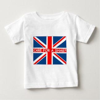 Union Jack shag Baby T-Shirt