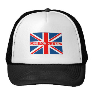 Union Jack shag Mesh Hats