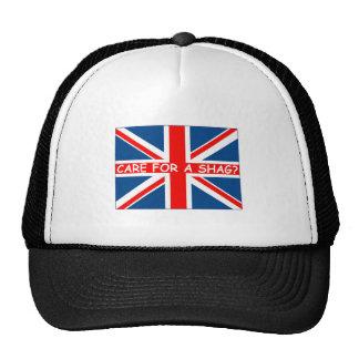 Union Jack shag Mesh Hats