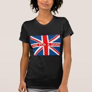 Union Jack shag T-Shirt