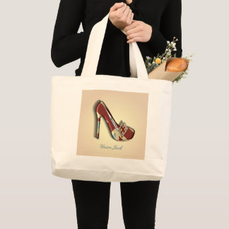 Union Jack Shoe Theme Design Tote Bag