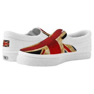 Union Jack... Slip On Shoes