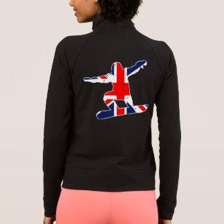 Union Jack SNOWBOARDER (wht) Jacket