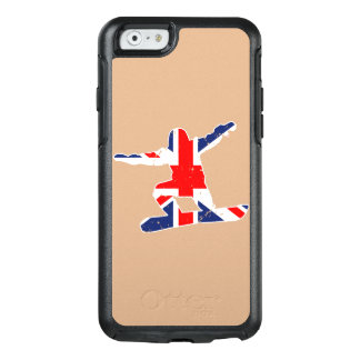 Union Jack SNOWBOARDER (wht) OtterBox iPhone 6/6s Case