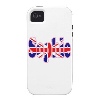 Union Jack Sophie iPhone 4 Covers
