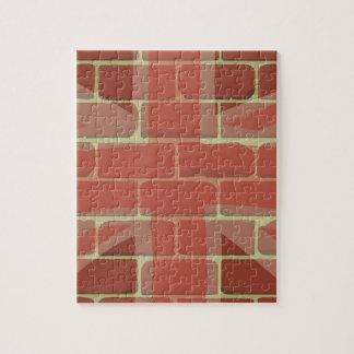 Union Jack Sprayed on a Wall Jigsaw Puzzle