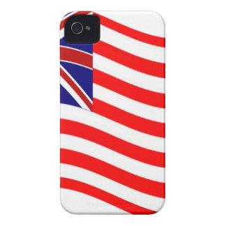 Union Jack Stripies Flag Case-Mate iPhone 4 Cases