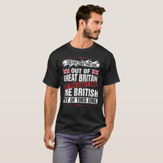 Union Jack Take This Girl Out Of Great Britain Tee