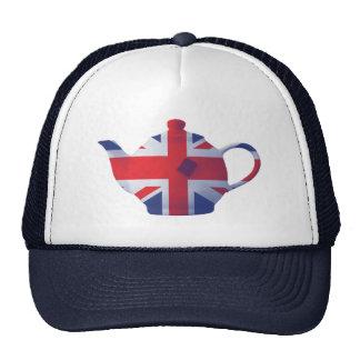 Union Jack Teapot Mesh Hat