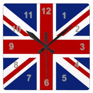 Union Jack Time Clocks