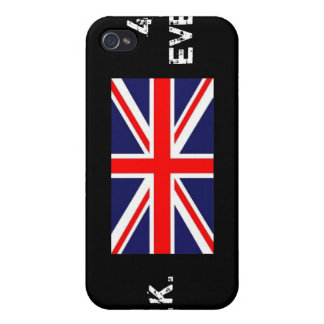 Union Jack, U.K., 4EVER Covers For iPhone 4