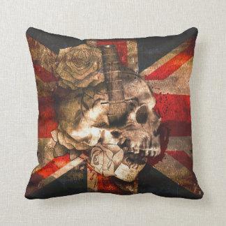 Union Jack UK Flag Gothic Cushion