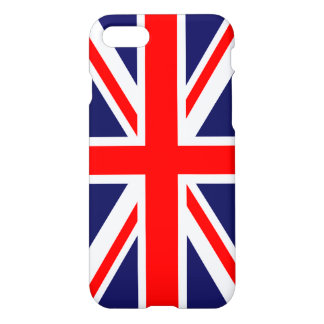 Union Jack - UK Flag iPhone 7 Case