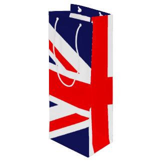 Union Jack - UK Flag Wine Gift Bag