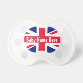 Union Jack United Kingdom British Flag Pacifiers