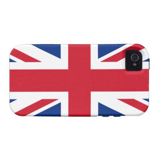 Union Jack United Kingdom Vibe iPhone 4 Cover