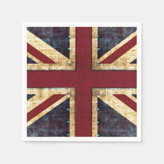 Union Jack United kingdom flag Paper Napkin