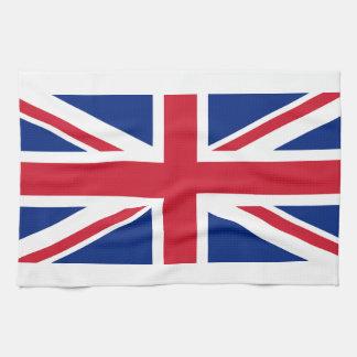 Union Jack: United Kingdom flag Hand Towels
