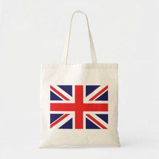 Union Jack United Kingdom Flag Tote Bag