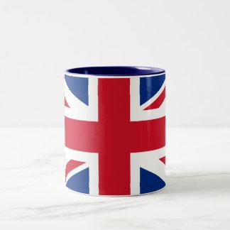 Union Jack United Kingdom Two-Tone Mug