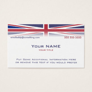 Union Jack version 1 Business Card