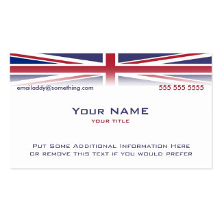 Union Jack version 2 Business Cards