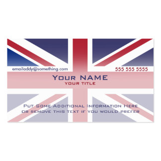 Union Jack version 3 Business Cards