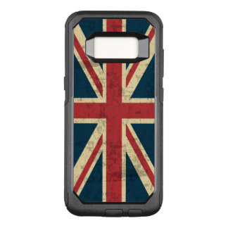 Union Jack Vintage British Flag OtterBox Commuter Samsung Galaxy S8 Case