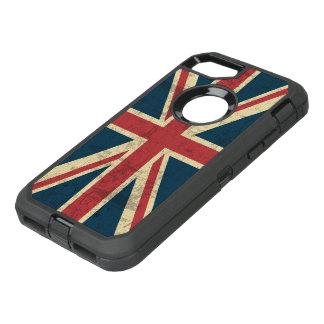 Union Jack Vintage British Flag OtterBox Defender iPhone 7 Case