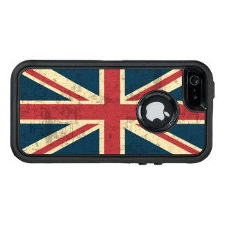 Union Jack Vintage British Flag OtterBox iPhone 5/5s/SE Case