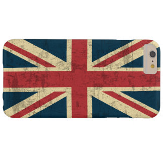 Union Jack Vintage Distressed Barely There iPhone 6 Plus Case
