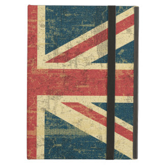 Union Jack Vintage Distressed Case For iPad Air