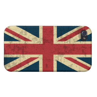 Union Jack Vintage Distressed iPhone 4 Covers
