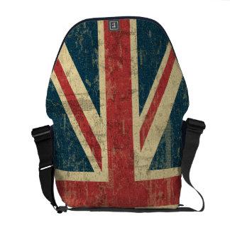 Union Jack Vintage Distressed Commuter Bag