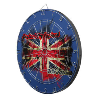 UNION JACK VINTAGE UK PASSION DARTBOARD