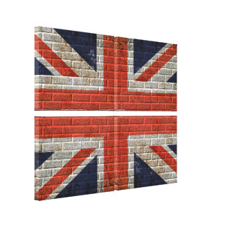 union jack wall flag Canvas