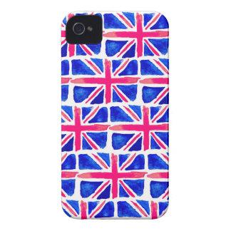 Union Jack Watercolour iPhone Case iPhone 4 Case