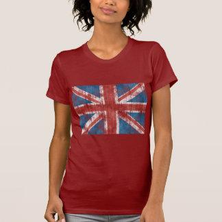 Union Jack worn T-Shirt