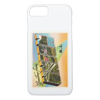 Union New Jersey NJ Old Vintage Travel Postcard- iPhone 7 Case