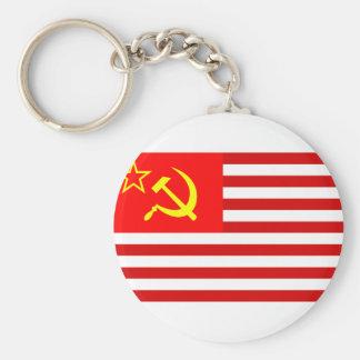 Union Of Soviet States Of America, Democratic Repu Key Ring