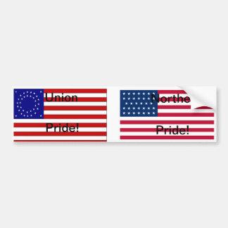 Union pride / Nortehrn pride bumper sticker