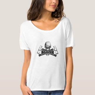 Union Roofer: Skull and Hammers T Shirt