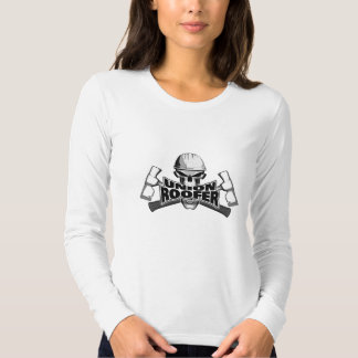 Union Roofer: Skull and Hammers Tee Shirt