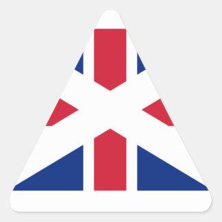 Union (Scotland) Flag Triangle Sticker