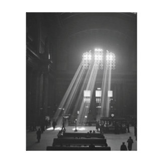Union Station Waiting Room, 1943 Canvas Print