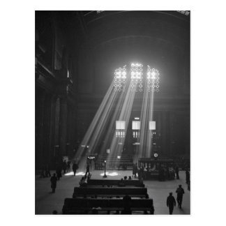 Union Station Waiting Room, 1943 Postcard