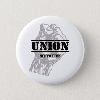 Union Thug Supporter 6 Cm Round Badge